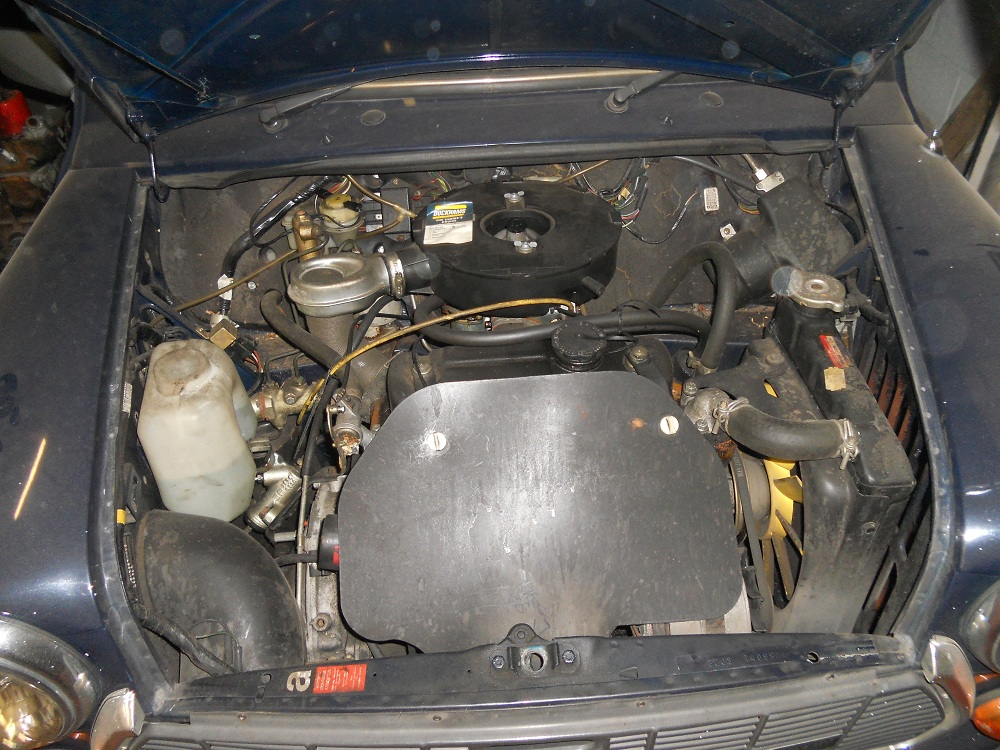 Mini Mayfair Engine Before Conversion