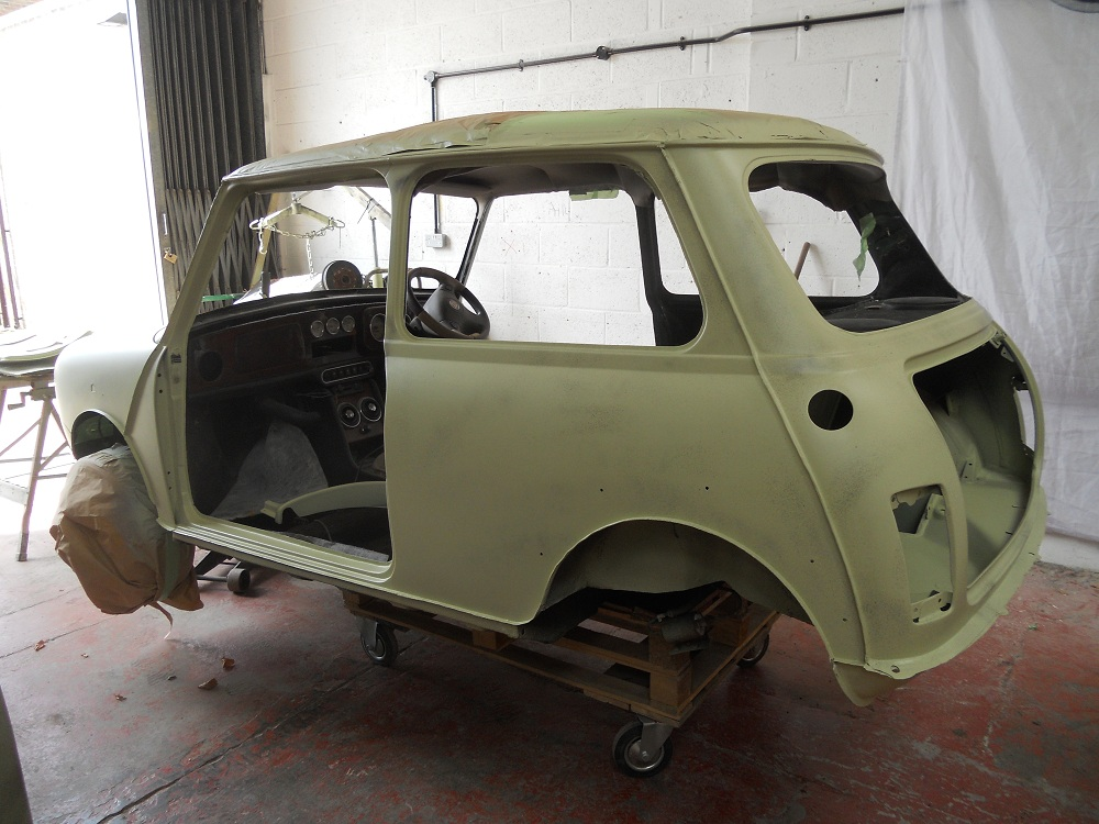 Mini Sports Pack Primed for Respray