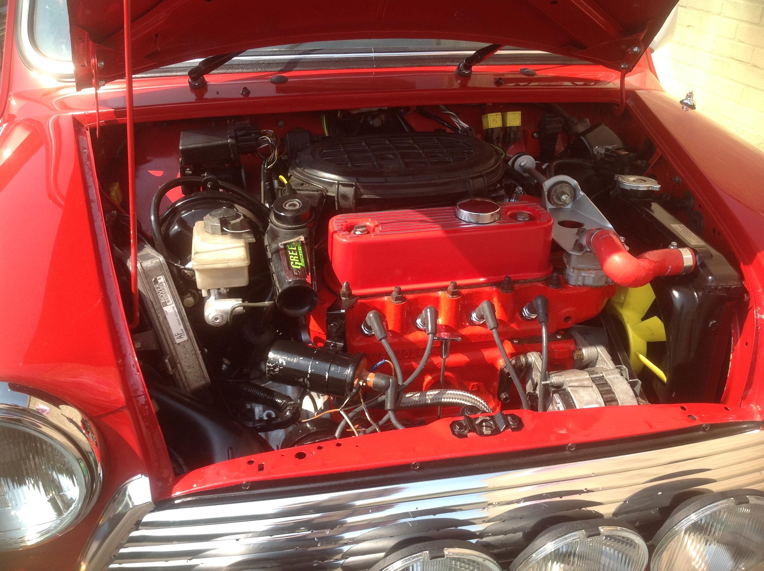 Mini Cooper Monte Carlo Engine