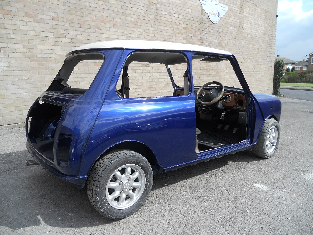 Right view of Mini Cooper after Restoration