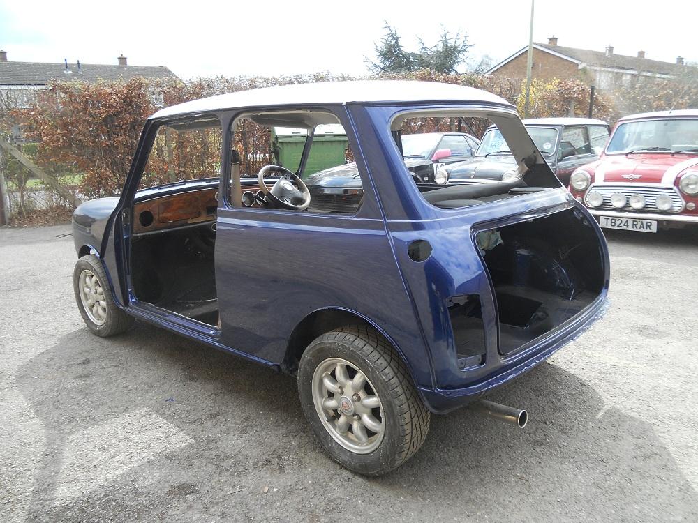 Left view of Mini Cooper after Restoration