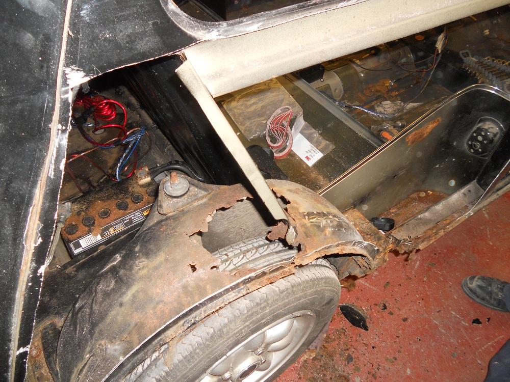 Rusted Mini Wheel Arch