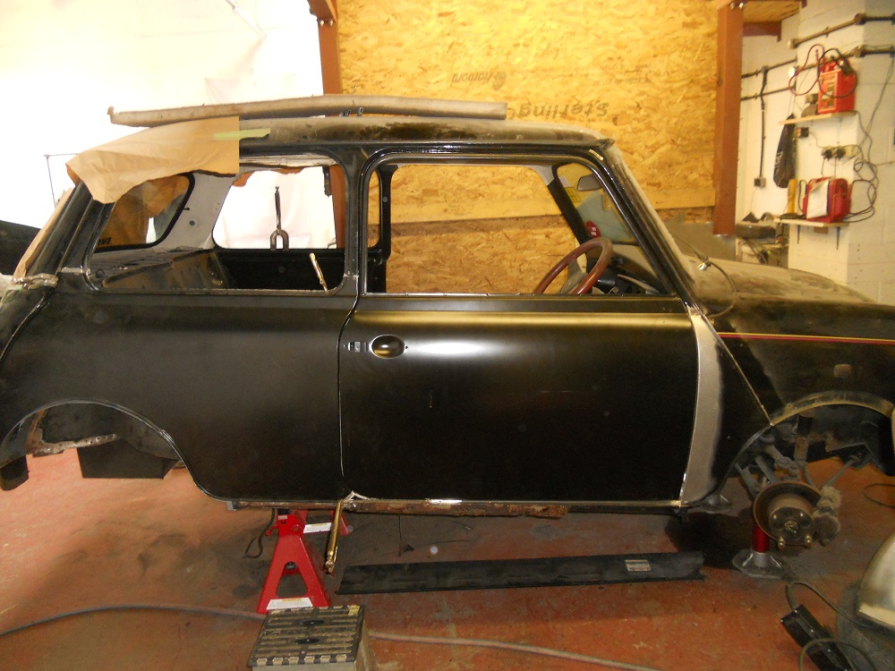 Mini 30 Chassis Being Restored