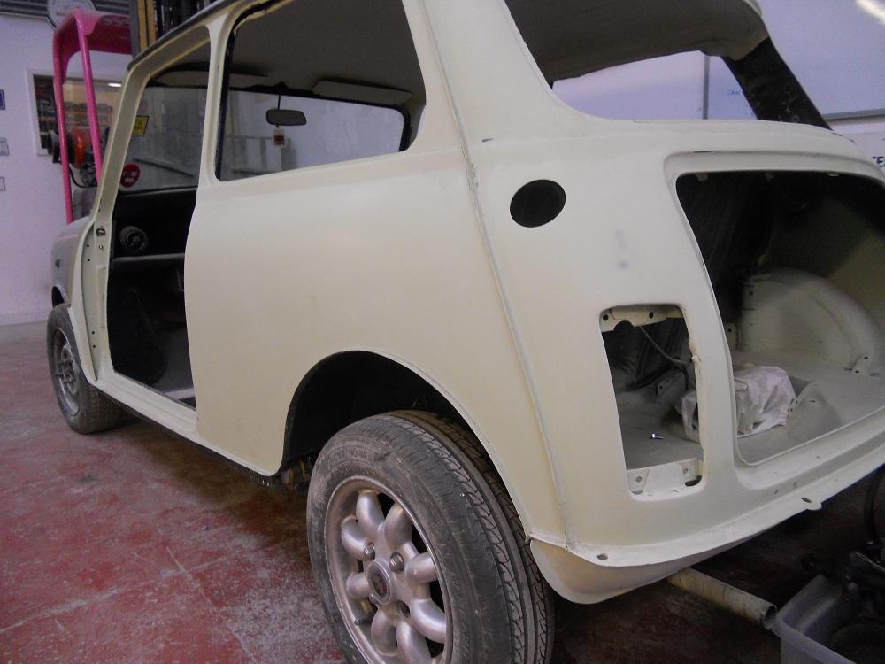 Restored Mini Wheel Arch