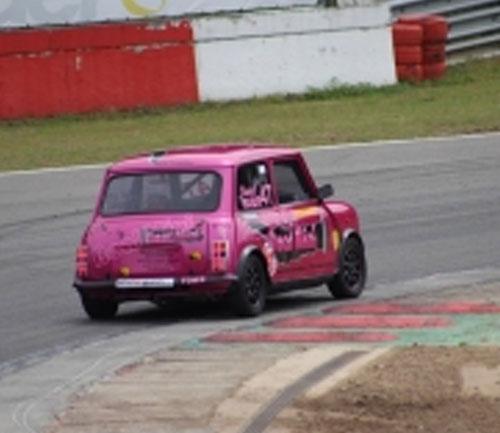 the real mini company race car
