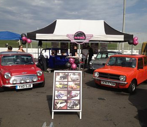 the real mini company exhibition stand