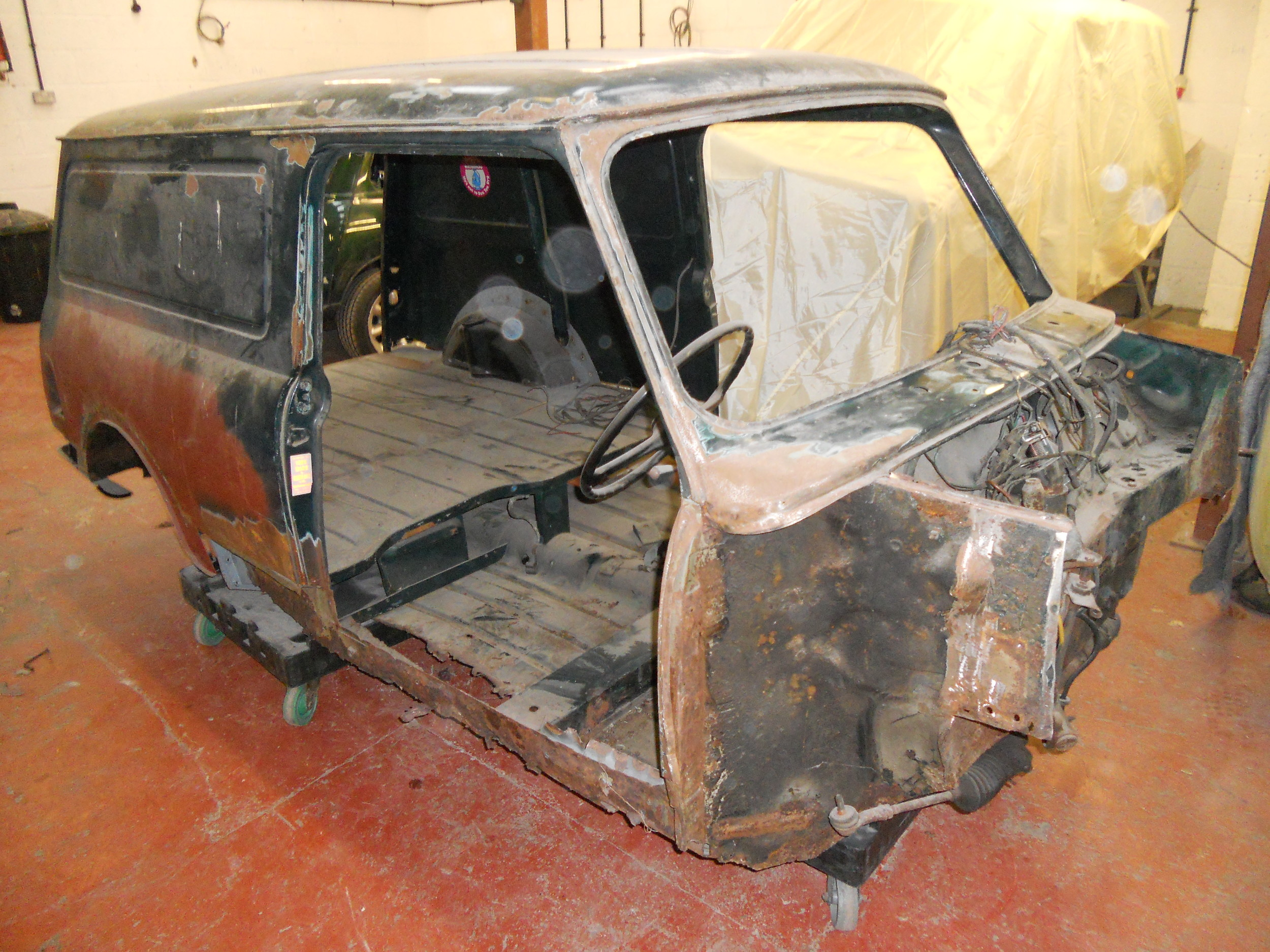 TRMC_Classic_Mini_Van_In_Progress