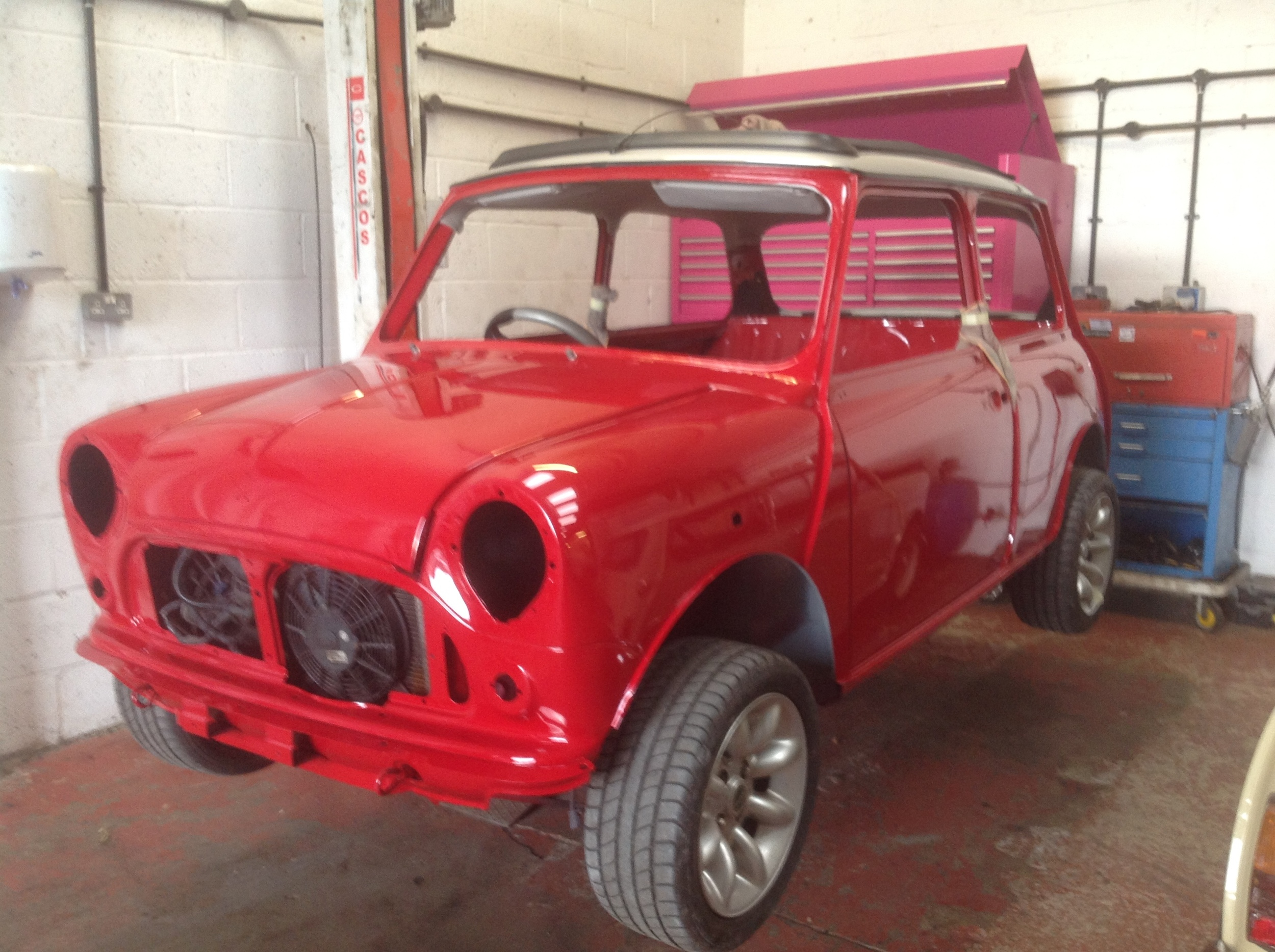 TRMC_Mini_Cooper_Red_Chassis