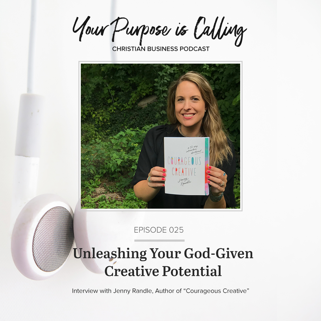 Graphic © Your Purpose is Calling - Christian Business Podcast