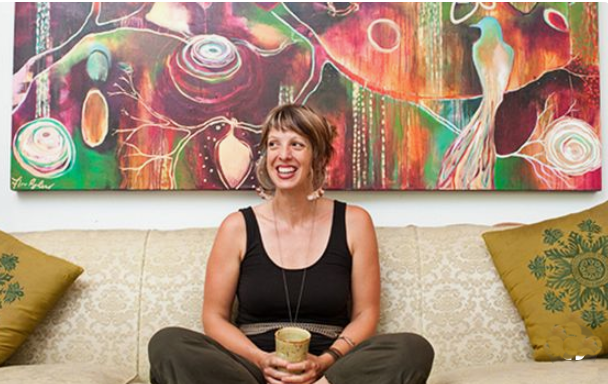 Intuitive painter Flora BOWLEY