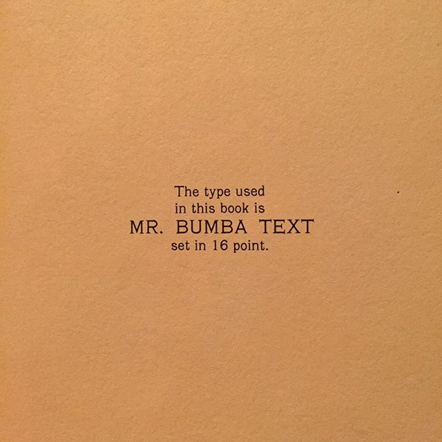 "Found this in the children's book, ""Mr. Bumba Draws a Kitten"". #typography #fonts #type #foundtype"