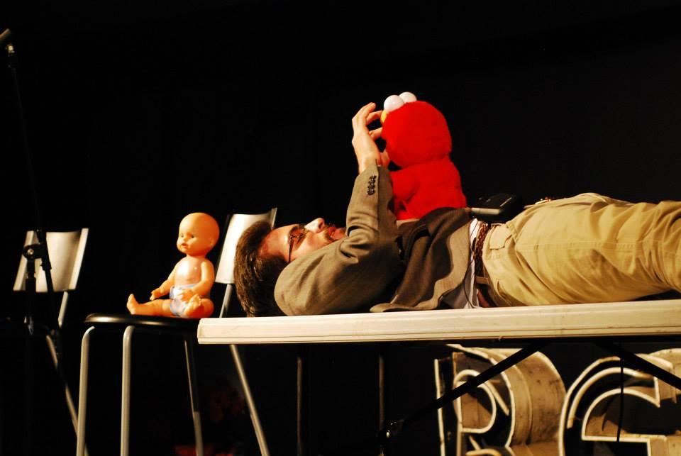 Neil LaPierre, Baby's Night 1/2 (one half). Photo: Joan Lillian Wilson.