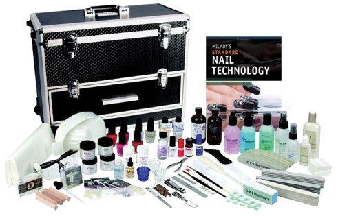 Manicuring Pat Goins Beauty School