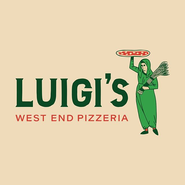 Just wrapped up an identity for Luigi's, the latest from chef Matt Louis. Follow their progress @luigiswestendpizzeria.