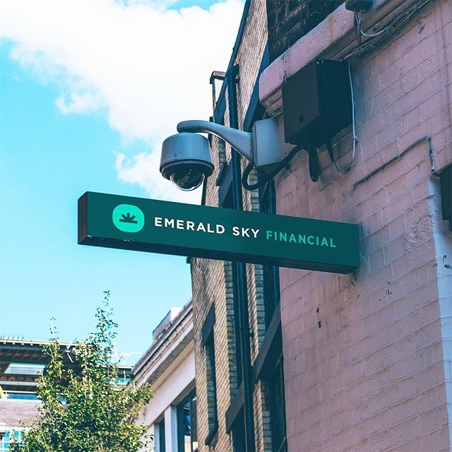 Didn't think accounting could be interesting? Wrong. Recently completed brand identity for Emerald Sky, a cannabis industry accounting co.