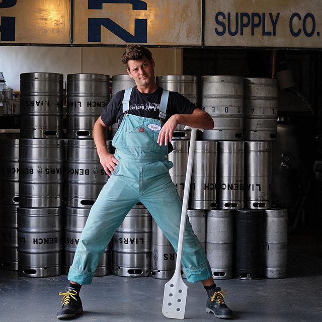 Overall, I'd say today's photo shoot with @liarsbenchbeer was a success.