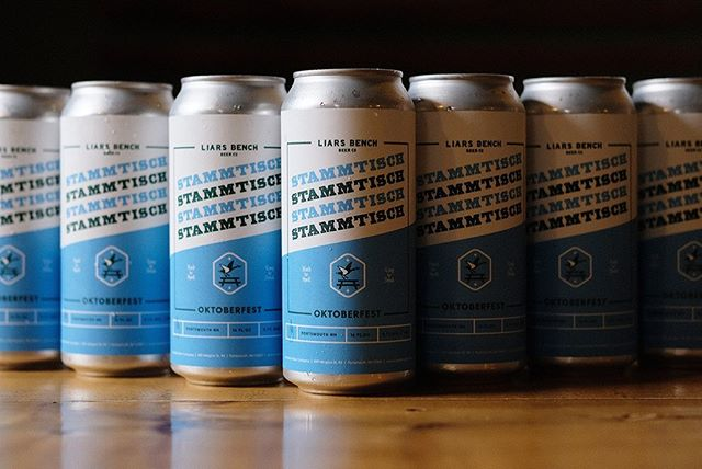 Happy Oktober! Frosty new Oktoberfest cans for our pals at Liars Bench.