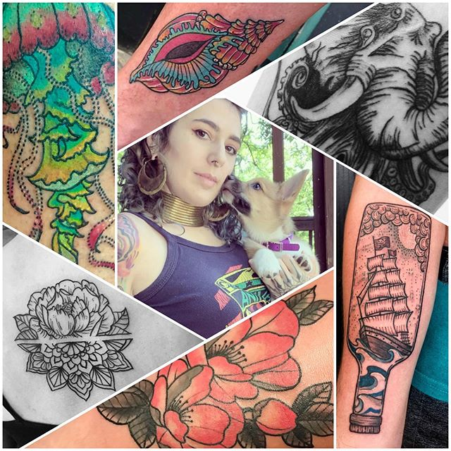 Guys & Gals!  Meet our newest LRTC family member, Mandee! ⚡️⚡️ Mandee loves tattooing colors as bright as her personality! She's loves puppies, horses, Pizza Hut and traveling the world!  She has been a guest artist with us before. If you didn't follow her before, be sure to do so now! ⚡️ IG: @freeasdeer  #lrtc #lightningrevival #lightningrevivaltattoo #lightningrevivaltattoocompany #byroncenter #byroncentermi #grandrapids #grandrapidsmi #grandrapidstattoo #westmichigan #westmichiganartist
