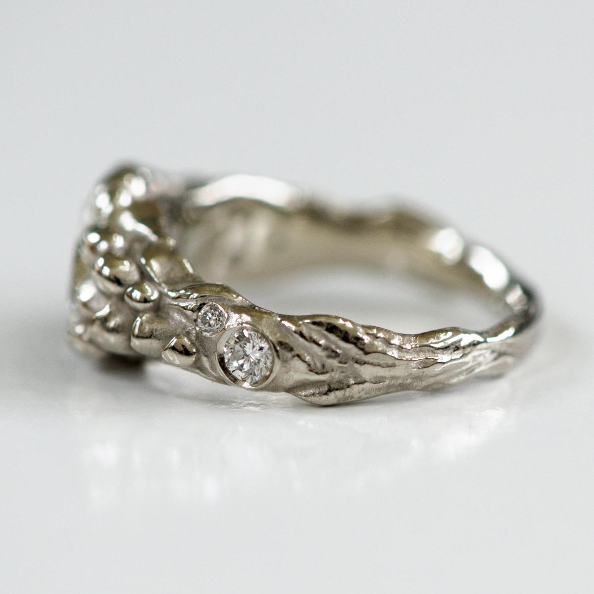 CG-Grisez-engagement ring-nature-hike-diamond-organic