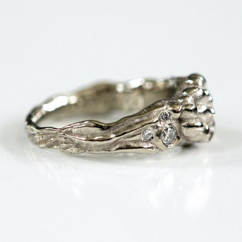Mushroom wedding ring