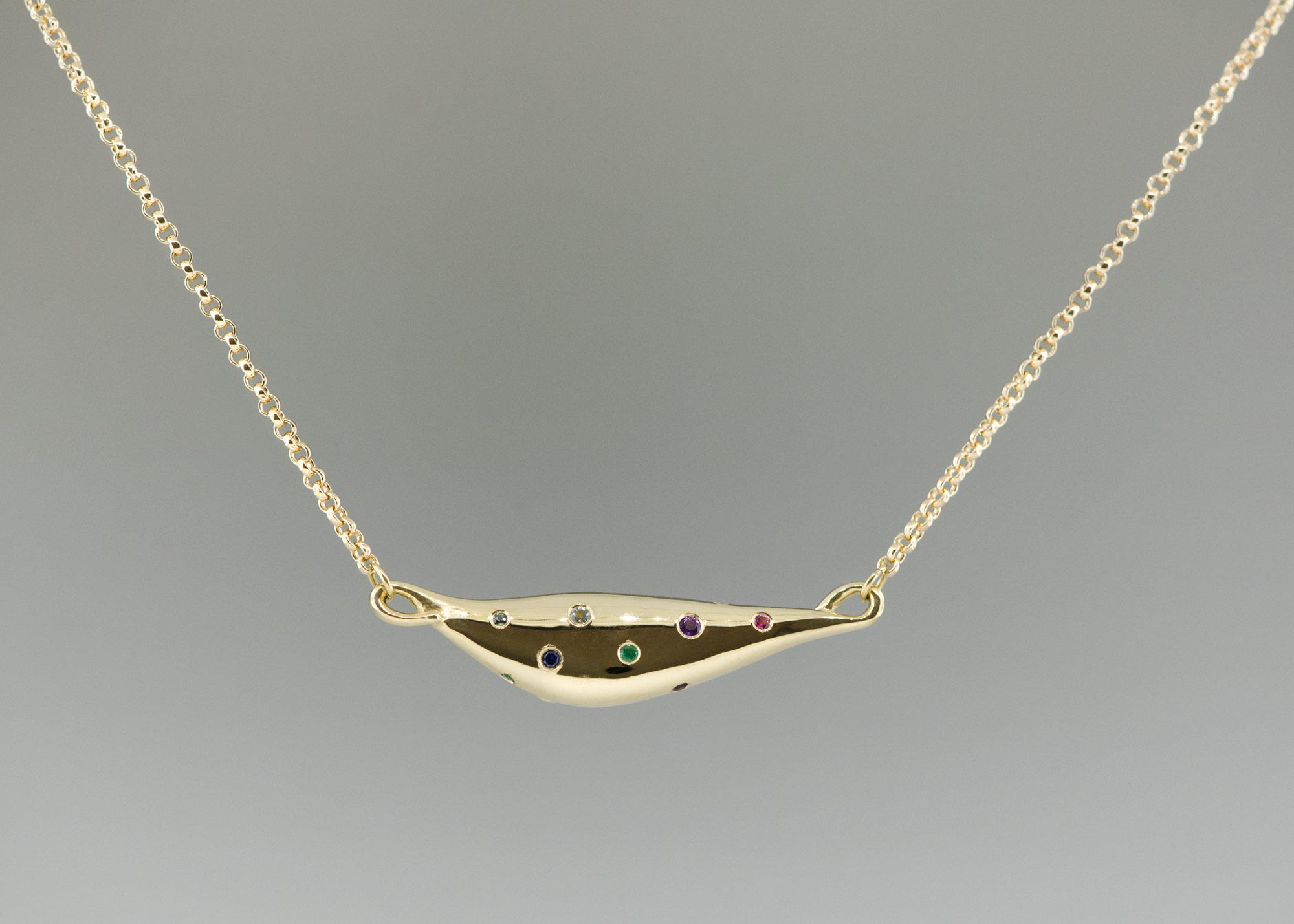 70'th birthday necklace