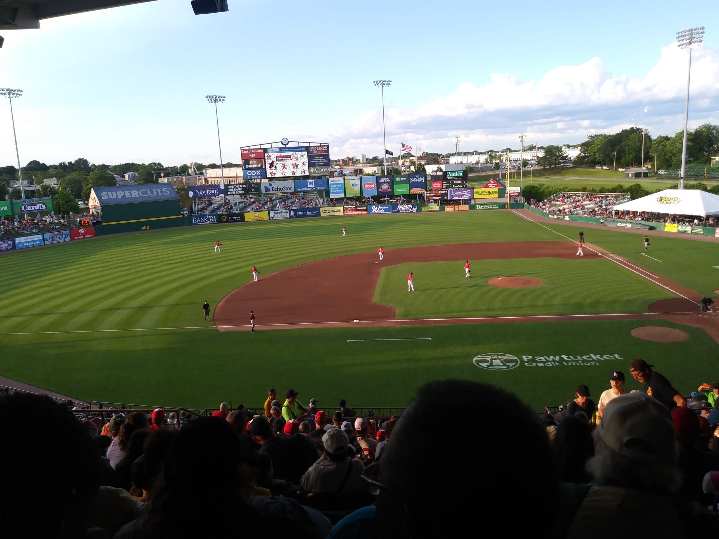 St. Paul's at the Paw Sox Game in June