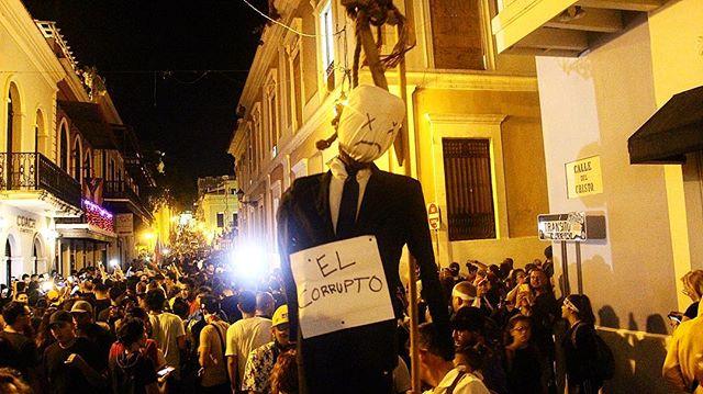 El Corrupto #rickyrenuncia #RickyRenuncio #puertorico