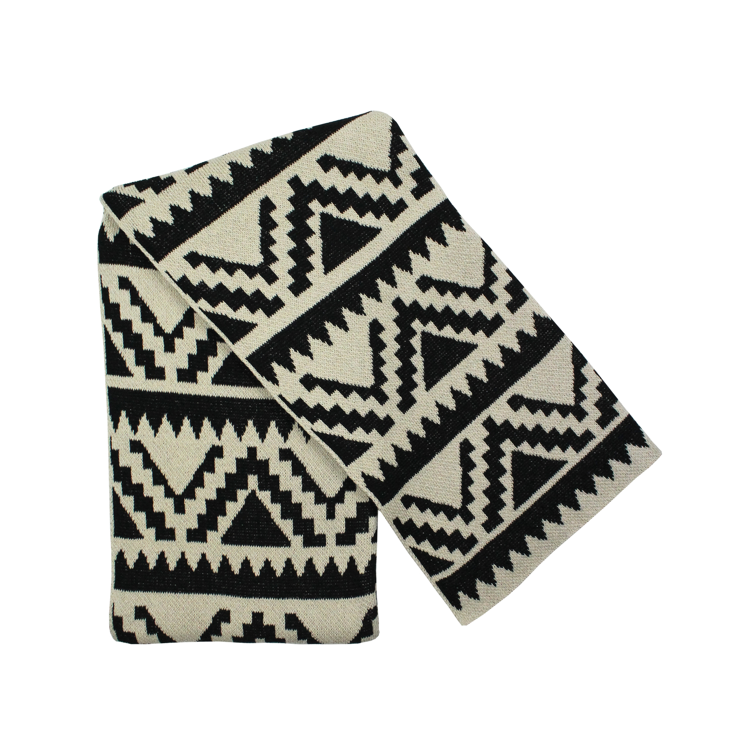 Recycled Cotton Throw by Happy Habitat