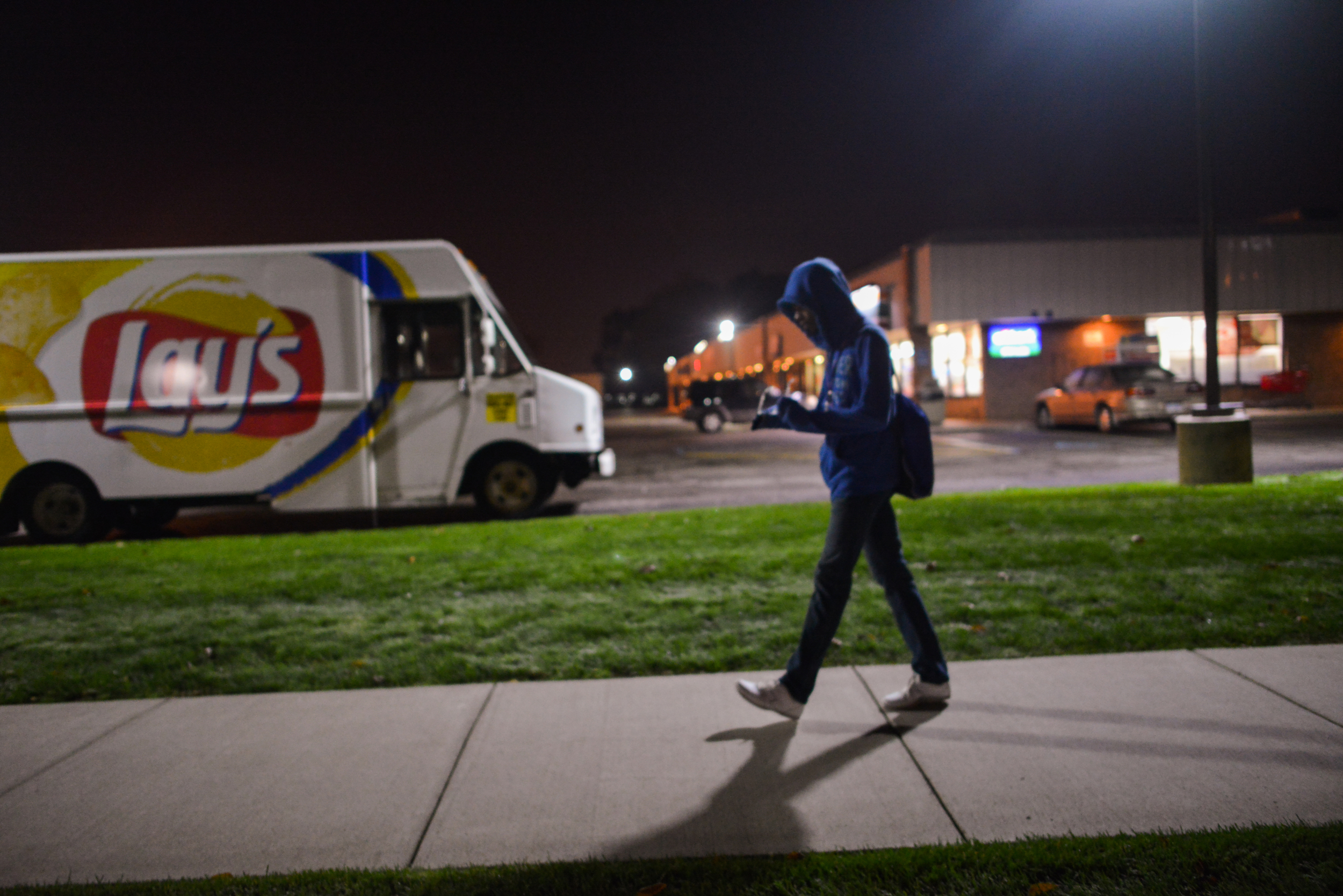 Up at 6:00 A.M. everyday, Kenneth walks a mile to school in order to eat a free breakfast provided by the Community Eligibility Option, a meal plan implemented in East Detroit Public Schools by the National School Lunch Breakfast program.