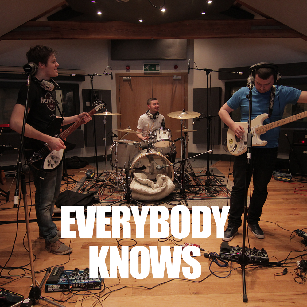 Everybody Knows @SSR Studios - The Gas Panic perform their debut single at SSR Studio in Manchester