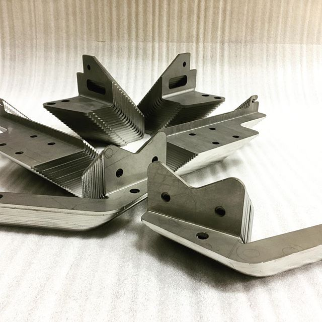 Left and right.  #lasercut #lasercutting #metalfab #sheetmetalfab #cnc #cnclaser #steel