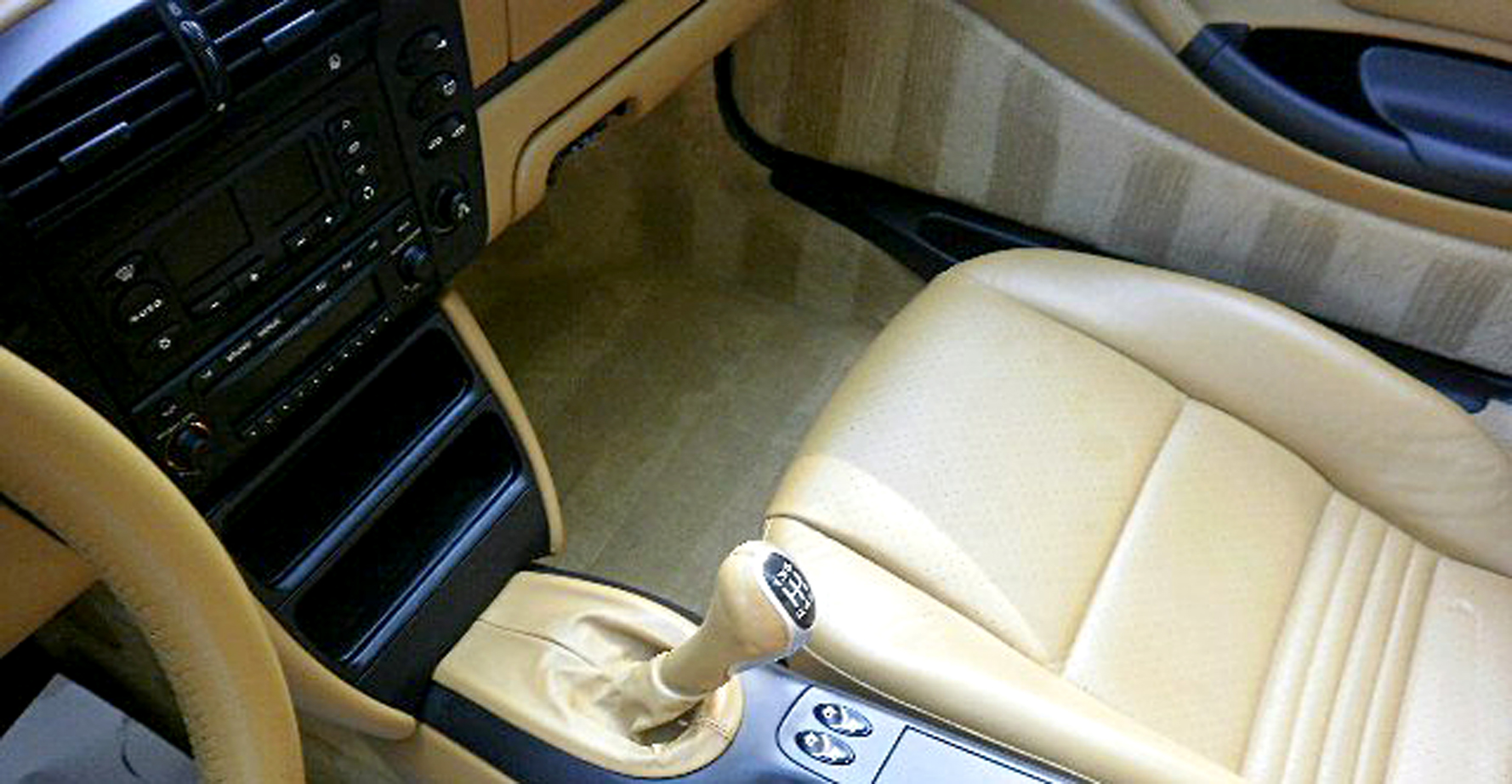 these stripes in the interior look horrible and are not natural