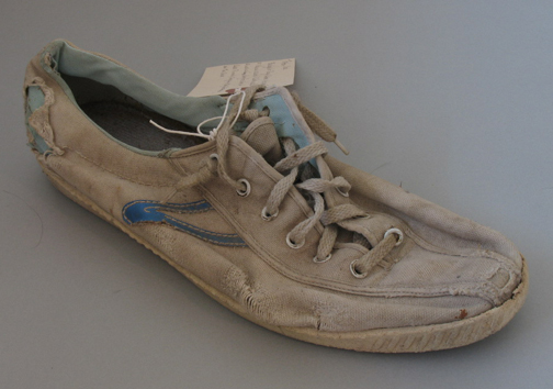 The  Tretorn Tennis Shoe  that Royal Robbins used for free climbing.