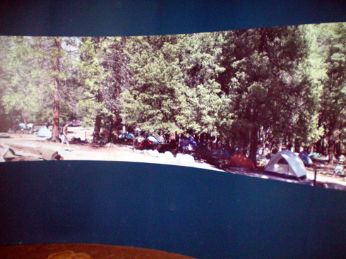28' panorama of Camp 4.