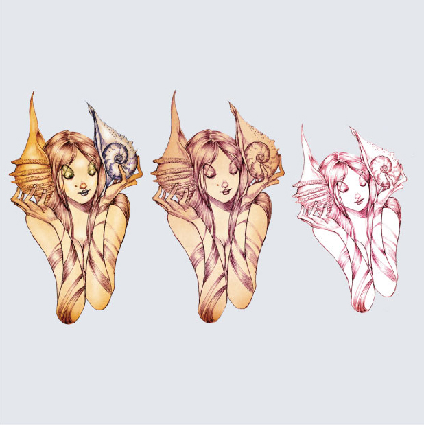David-Choe-Seashells-Girls