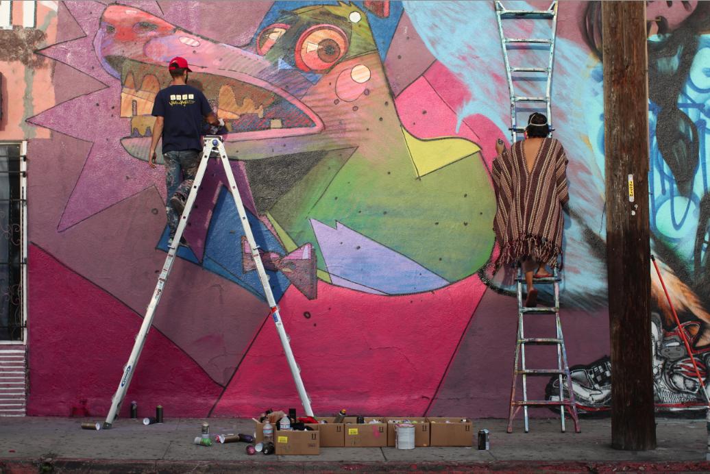 David-Choe-Aryz-Retna-Critter-Mural-08