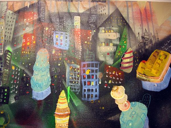 City Girl artwork detail