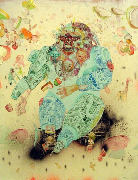 Simian Dreams by David Choe