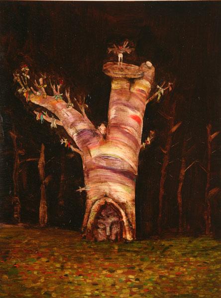 Prayer Tree by David Choe
