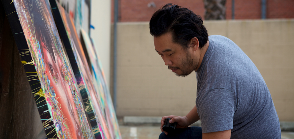 David-Choe-Working-in-Studio-01