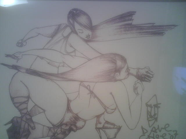 David-Choe-Girl-Fight
