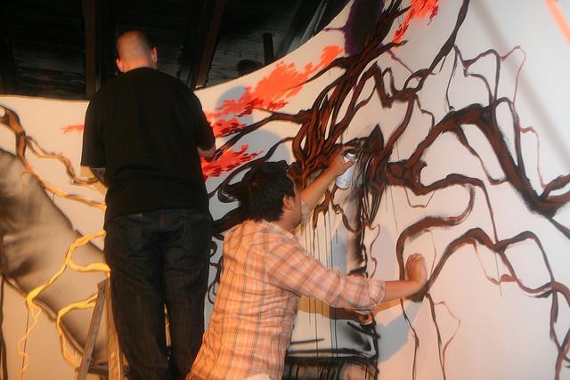 David-Choe-Saber-Mural-11