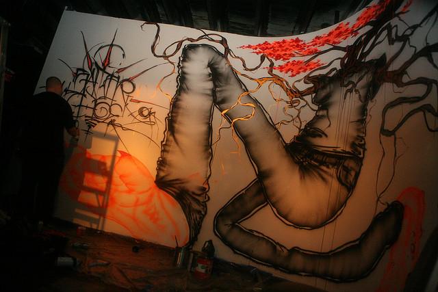 David-Choe-Saber-Mural-36