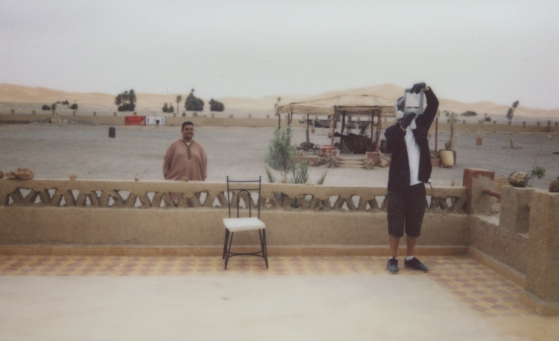 El Mac in the Sahara Desert