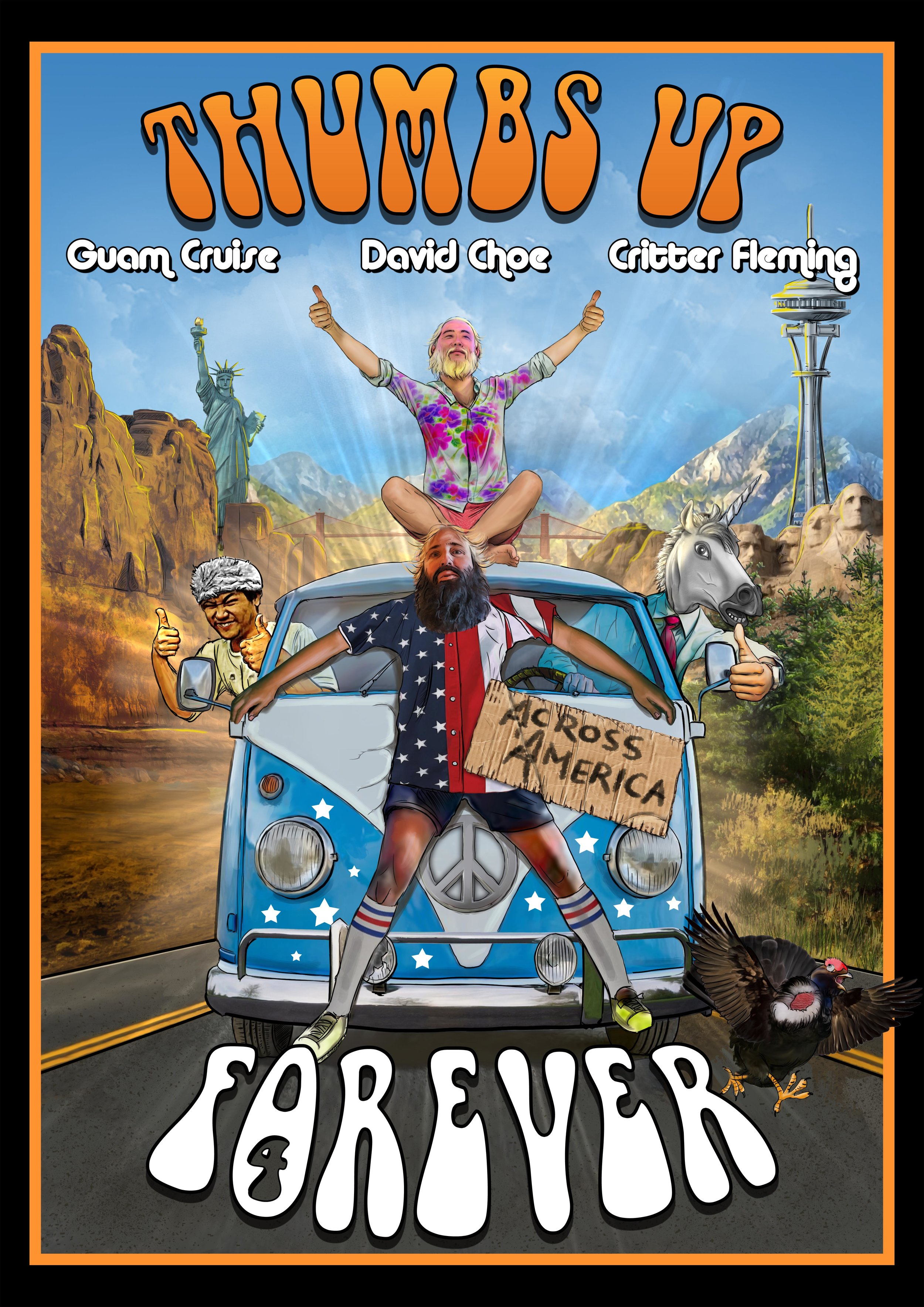 Thumbs Up Forever Vintage Movie Poster