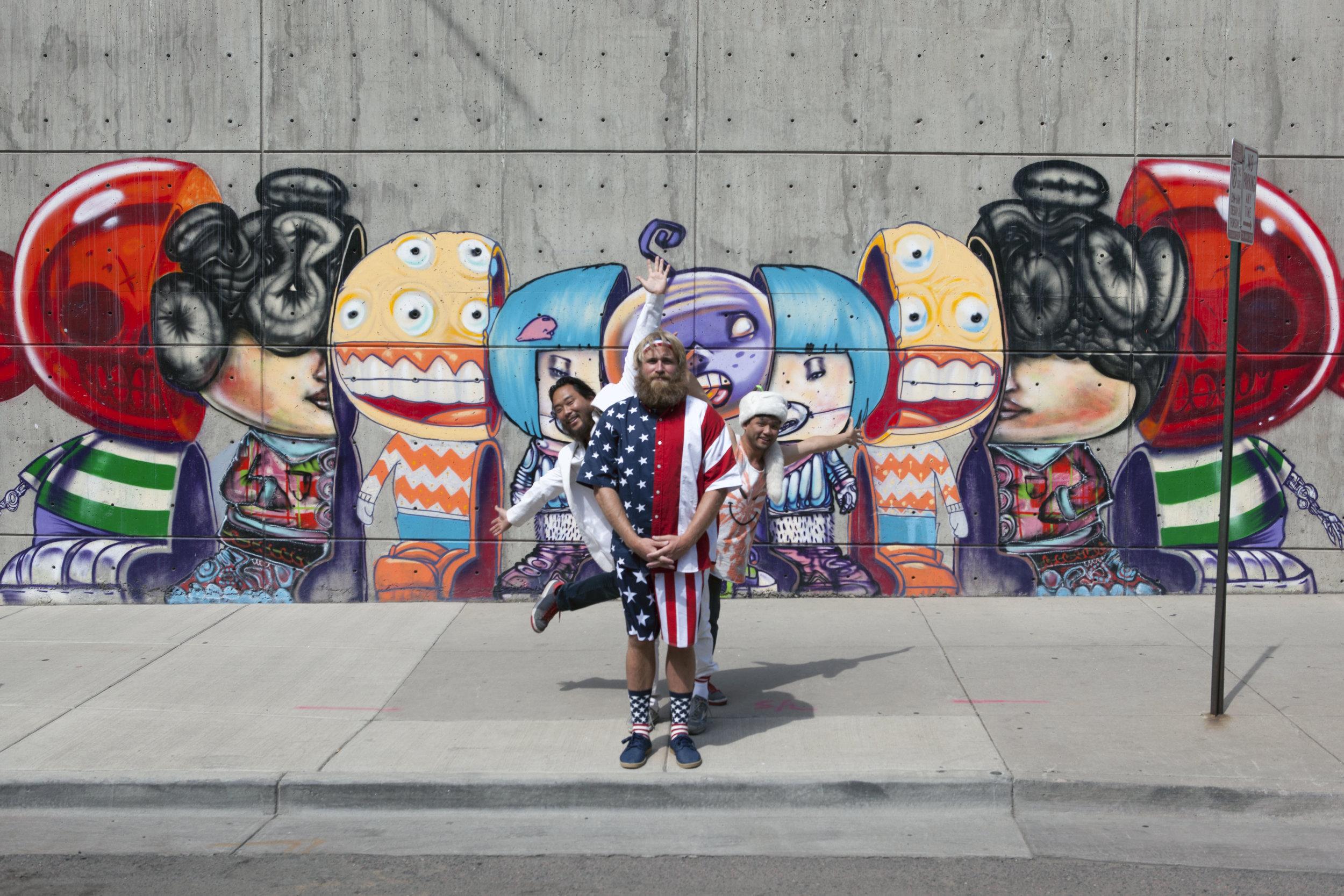 Critter x David Choe Denver Mural