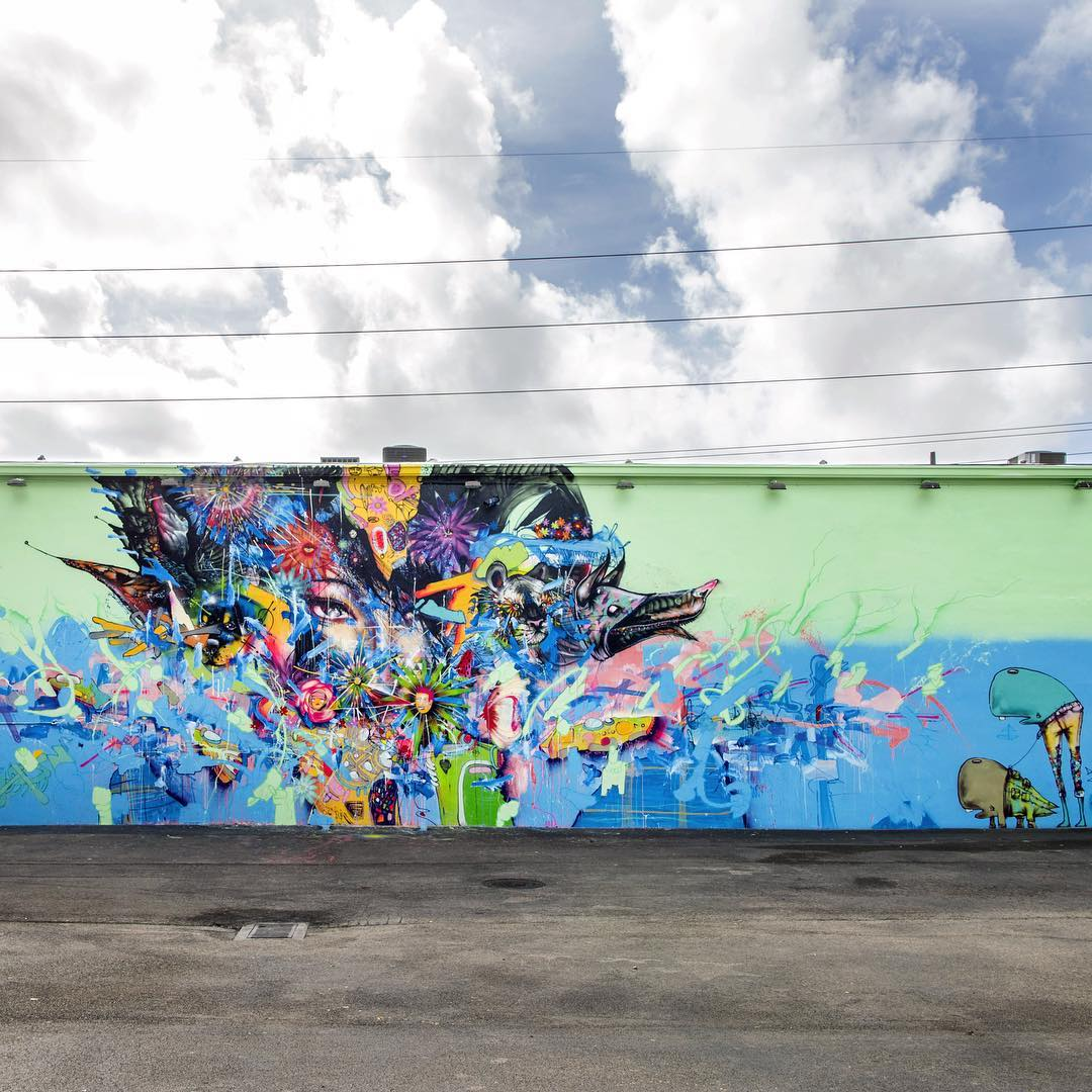 David Choe x Lynwood Walls mural - Nothing Lasts Forever
