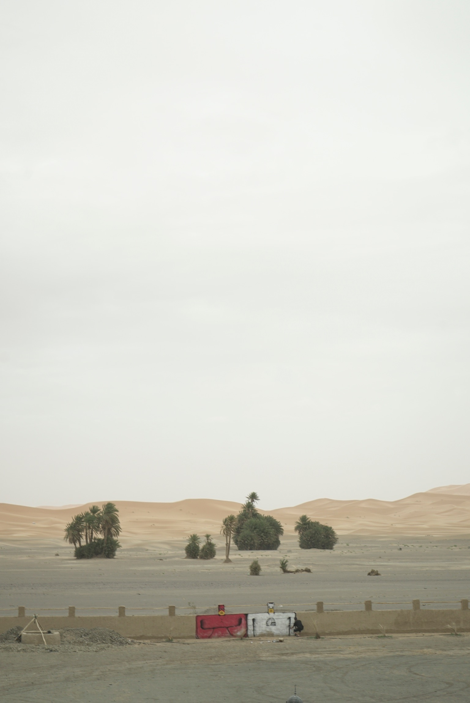 Choe walls - Sahara Desert - Morocco - Igloo Hong Project