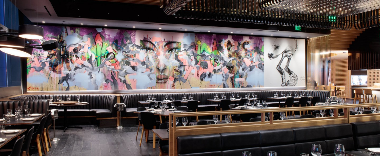 David Choe mural at Momofuku Las Vegas.Credit: Momofuku Las Vegas
