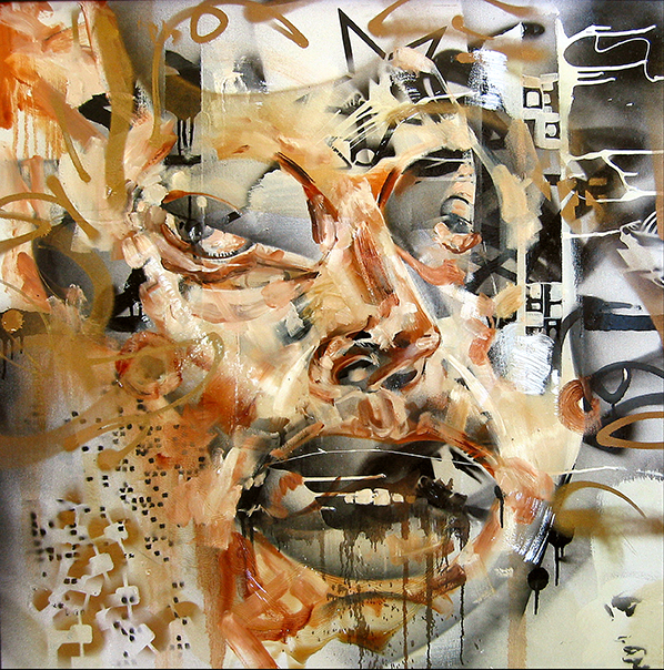 David Choe Scrunch Face #2 (2010)